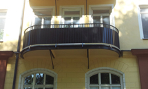 Byggnation balkong