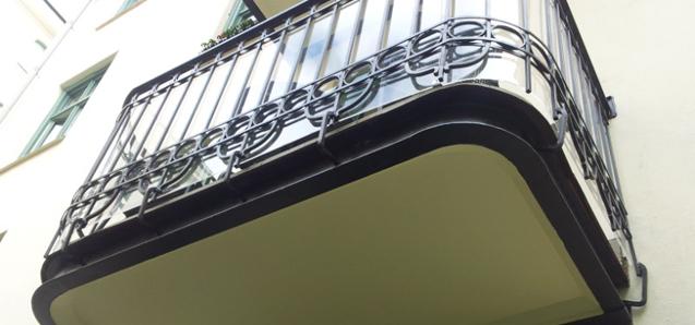 Tillbyggnad balkong