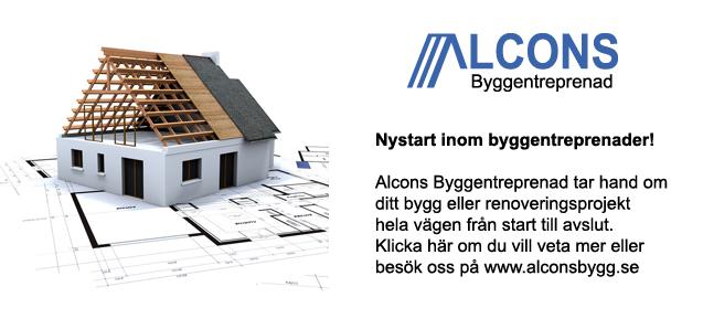 Alcons byggentreprenad, nytt systerbolag!